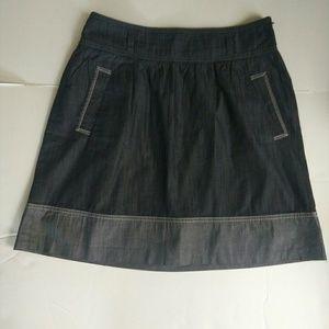 Ann Taylor LOFT Cotton Skirt Size 8 Petite
